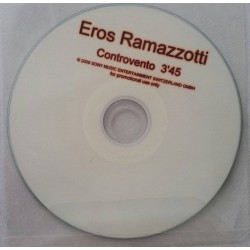 Eros Ramazzotti ‎– Controvento - CDr Single Promo - Switzerland