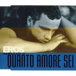 Eros Ramazzotti – Quanto Amore Sei - CD Maxi Single Promo