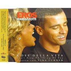 Eros Ramazzotti Duetto Con Tina Turner – Cose Della Vita - Can't Stop Thinking Of You - CD Maxi Single Promo