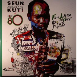 Seun Anikulapo Kuti & Egypt 80 - From Africa With Fury: Rise - Double LP Vinyl + CD 2016 Edition