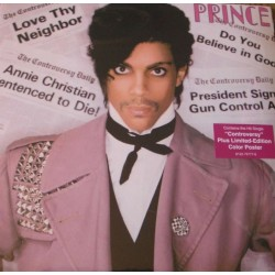 Prince ‎– Controversy - LP Vinyl Album - Limited Edition - Color Poster