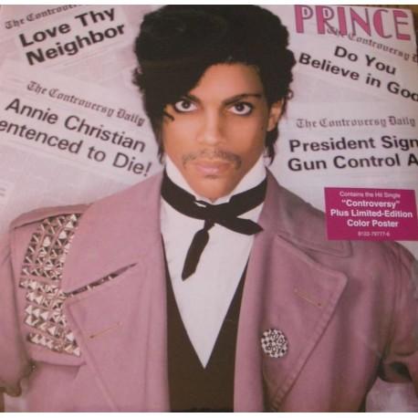 Prince – Controversy - LP Vinyl Album - Limited Edition - Color Poster