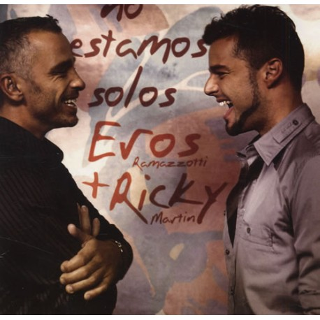 Eros Ramazzotti & Ricky Martin - No Estamos Solos - CD Maxi Single Promo