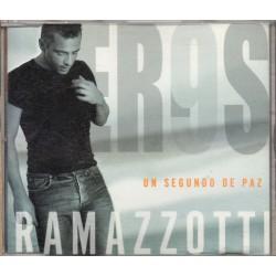 Eros Ramazzotti - Un Segundo De Paz - CD Maxi Single - Mexican Promo