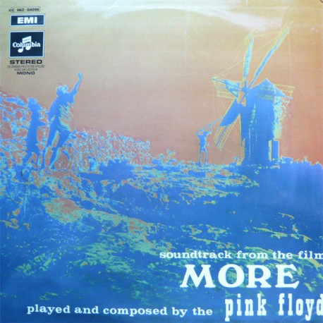"Pink Floyd – Soundtrack From The Film ""More"" - LP Vinyl Aum - BIEM 1969"