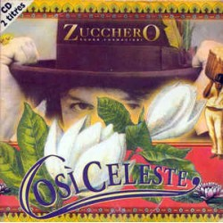 Zucchero ‎– Cosi Celeste  - CD Single Cardboard Sleeve