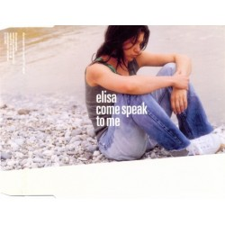 Elisa Toffoli ‎– Come Speak To Me - CD Maxi Single Promo