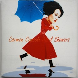 Carmen Consoli ‎– April Showers - CD Single Promo - Gatefold Cover