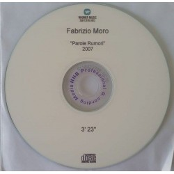 Fabrizio Moro - Parole Rumori - CDr Single Promo Switzerland