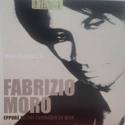 Fabrizio Moro – Eppure Mi Hai Cambiato La Vita - CD Single Promo