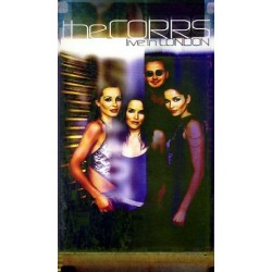 The Corrs ‎– Live In London - VHS - SECAM