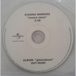 Gianna Nannini - Mosca Cieca - CDr Single Promo