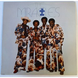The Miracles ‎– The Power Of Music - LP Vinyl Album