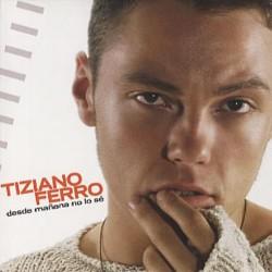 Tiziano Ferro - Desde Mañana No Lo Sé - CD Single Promo - Mexico