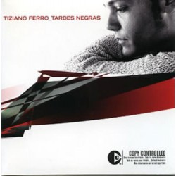 Tiziano Ferro ‎– Tardes Negras - CD Single Promo - Cardboard Sleeve