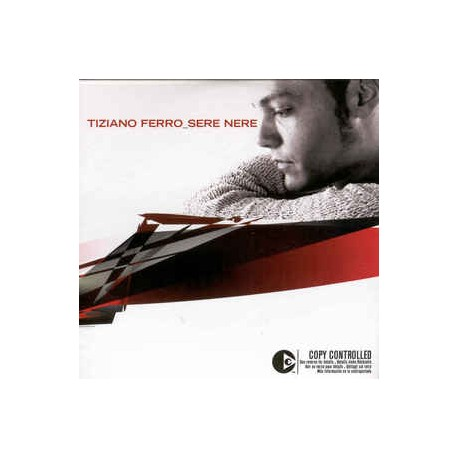 Tiziano Ferro ‎– Sere Nere - CD Single - Cardboard Sleeve