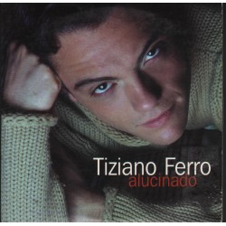 Tiziano Ferro - Alucinado - CD Single Promo - Spanish Version Imbranato