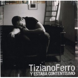 Tiziano Ferro - Y Estaba Contentisimo - CD Single Promo - Cardboard Sleeve