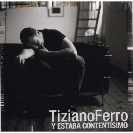 Tiziano Ferro - Y Estaba Contentisimo - CD Single Promo - Cardboard Sleeve