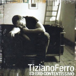 Tiziano Ferro ‎– Ed Ero Contentissimo - CD Single Promo