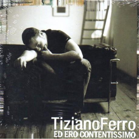Tiziano Ferro – Ed Ero Contentissimo - CD Single Promo