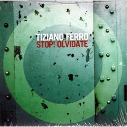 Tiziano Ferro ‎– Stop! Olvidate - CD Single Promo - Cardboard Sleeve