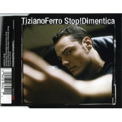 Tiziano Ferro ‎– Stop! Dimentica - CD Maxi Single Jewel Case