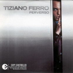 Tiziano Ferro ‎– Perverso - CD Single - Cardboard Sleeve