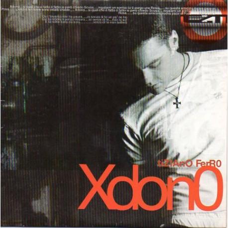 Tiziano Ferro - Xdono - CD Single Promo - Cardboard Sleeve