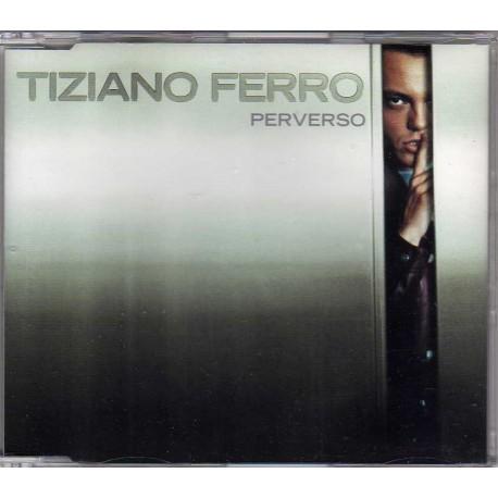 Tiziano Ferro - Perverso - CD Maxi Single Promo