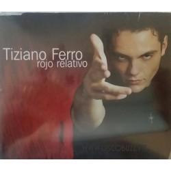 Tiziano Ferro – Rojo Relativo - CD Maxi Single Promo