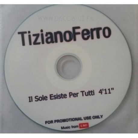 Tiziano Ferro - Il Sole Esiste Per Tutti - CDr Single Promo