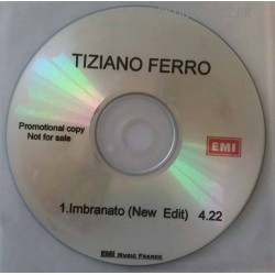 Tiziano Ferro - Imbranato - CDr Single Promo