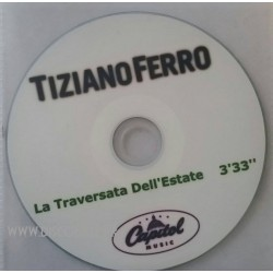 Tiziano Ferro - La Traversata Dell'Estate - CDr Single Promo