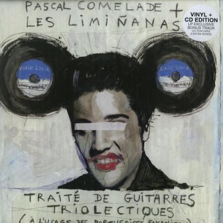 Pascal Comelade & Les Limiñanas – Traité De Guitarres Triolectiques - À L'usage Des Portugaises Ensablées - LP Vinyl + CD