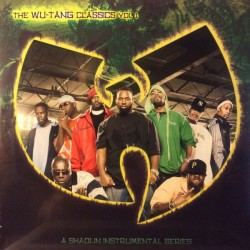 Wu-Tang Clan ‎– The Wu-Tang Classics Vol 1 (A Shaolin Instrumental Series) - Double LP Vinyl Album