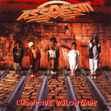 Assassin  ‎– L'Homicide Volontaire - Double LP Vinyl Album