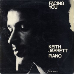 Keith Jarrett ‎– Facing You - LP Vinyl Album