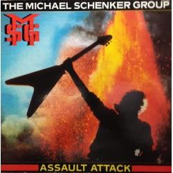 The Michael Schenker Group – Assault Attack - LP Vinyl Album