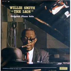 "Willie ""The Lion"" Smith ‎– Original Piano Solo - LP Vinyl Album"