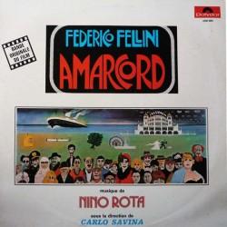 Nino Rota – Amarcord - Federico Fellini - LP Vinyl Album - Carlo Savina