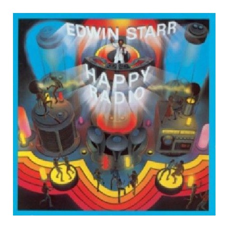 Edwin Starr ‎– H.A.P.P.Y. Radio Happy - LP Disco Vinyl