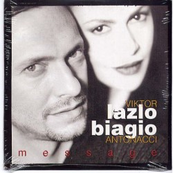 Viktor Lazlo & Biagio Antonacci ‎– Message -CD Single - Cardboard Sleeve
