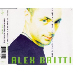 Alex Britti ‎– Solo Una Volta (O Tutta La Vita) - CD Maxi Single