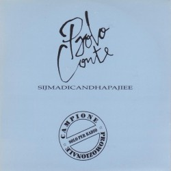 Paolo Conte ‎– Sijmadicandhapajiee - CD Single Promo