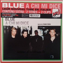 Blue ‎– A Chi Mi Dice - CD Single - Enhanced - Cardboard Sleeve