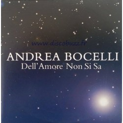 Andrea Bocelli ‎– Dell'Amore Non Si Sa - CD Single Promo - Cardboard Sleeve