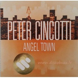 Peter Cincotti - Angel Town - CD Single Promo