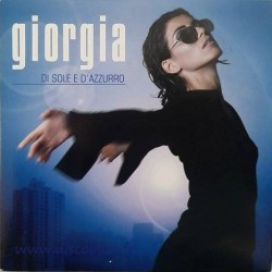 Giorgia ‎Todrani – Di Sole E D'Azzurro - CD Single Cardboard Sleeve