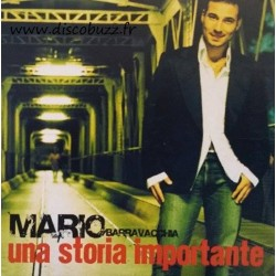 Mario Barravecchia ‎– Una Storia Importante - CDr Single Promo